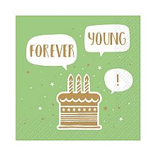 Pap�rov� ubrousky EARL FSC Green Forever Young